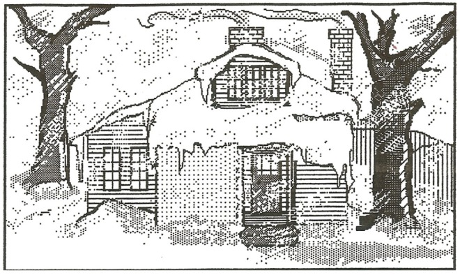 Computer drawing of the Idlewild house.