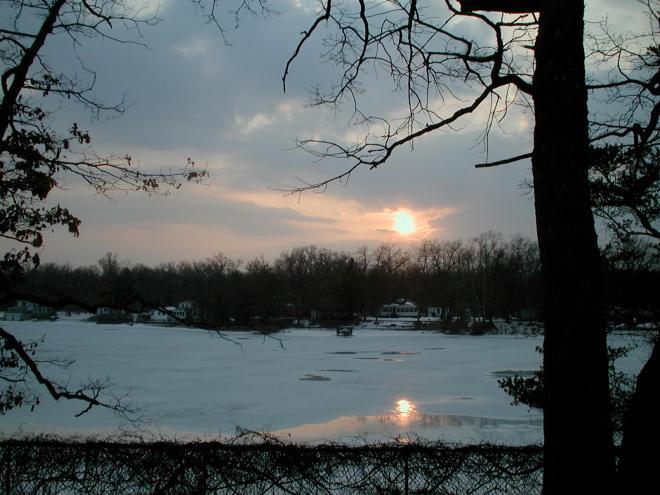 Idlewild Lake - winter