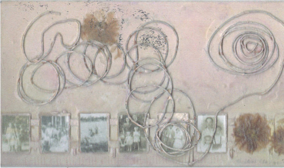 wire collage